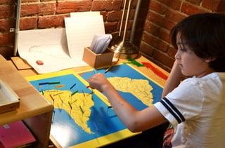 Montessori Map